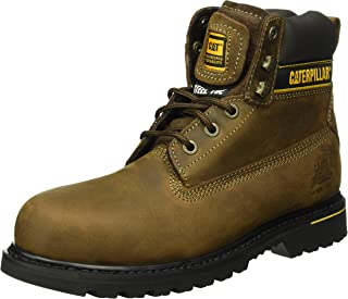 Mens Holton Safety Boot Brown Size UK 7 EU 41
