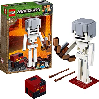 LEGO Minecraft BigFig Minecraft: Esqueleto con Cubo