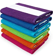 Kaufman - Cabana Terry Loop Towel 6-Pack - 32in x 62in