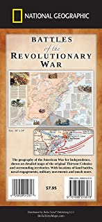 Battles of the Revolutionary War Map