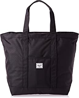 Herschel Bamfield Mid-Volume Women Tote Bag, Black