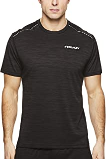 Men's Epic Crewneck Gym Training & Workout T-Shirt - Short Sleeve Activewear Top