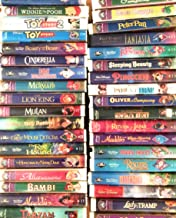 33 Walt Disney's Masterpiece Collection Vhs
