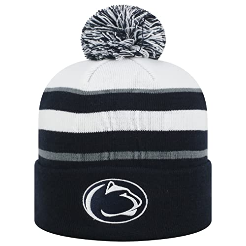 Top of the World Penn State Nittany Lions Official NCAA Cuffed Knit Skyview  Stocking Stretch Sock a069a7bfbd3