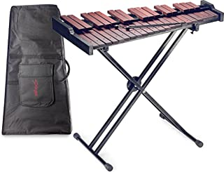 Stagg XYLO-SET 37 37-Key Xylophone with Mallets and Stand, wooden/black, -inch
