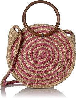 حقيبة كتف دائرية بخطوط السيرك من سام إيدلمان زوي