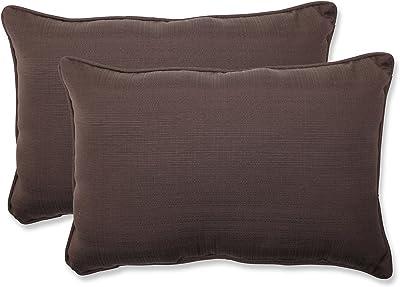 Beige 386744 Pillow Perfect Decorative Solid Toss Pillow Rectangle