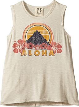 People's Project LA Kids Aloha Tank Top (Big Kids)