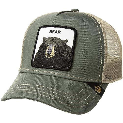 1f6c0a555 Bear Trucker Hat: Amazon.com