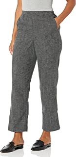 Alfred Dunner womens Petite Full back elastic proportioned medium pant Pants