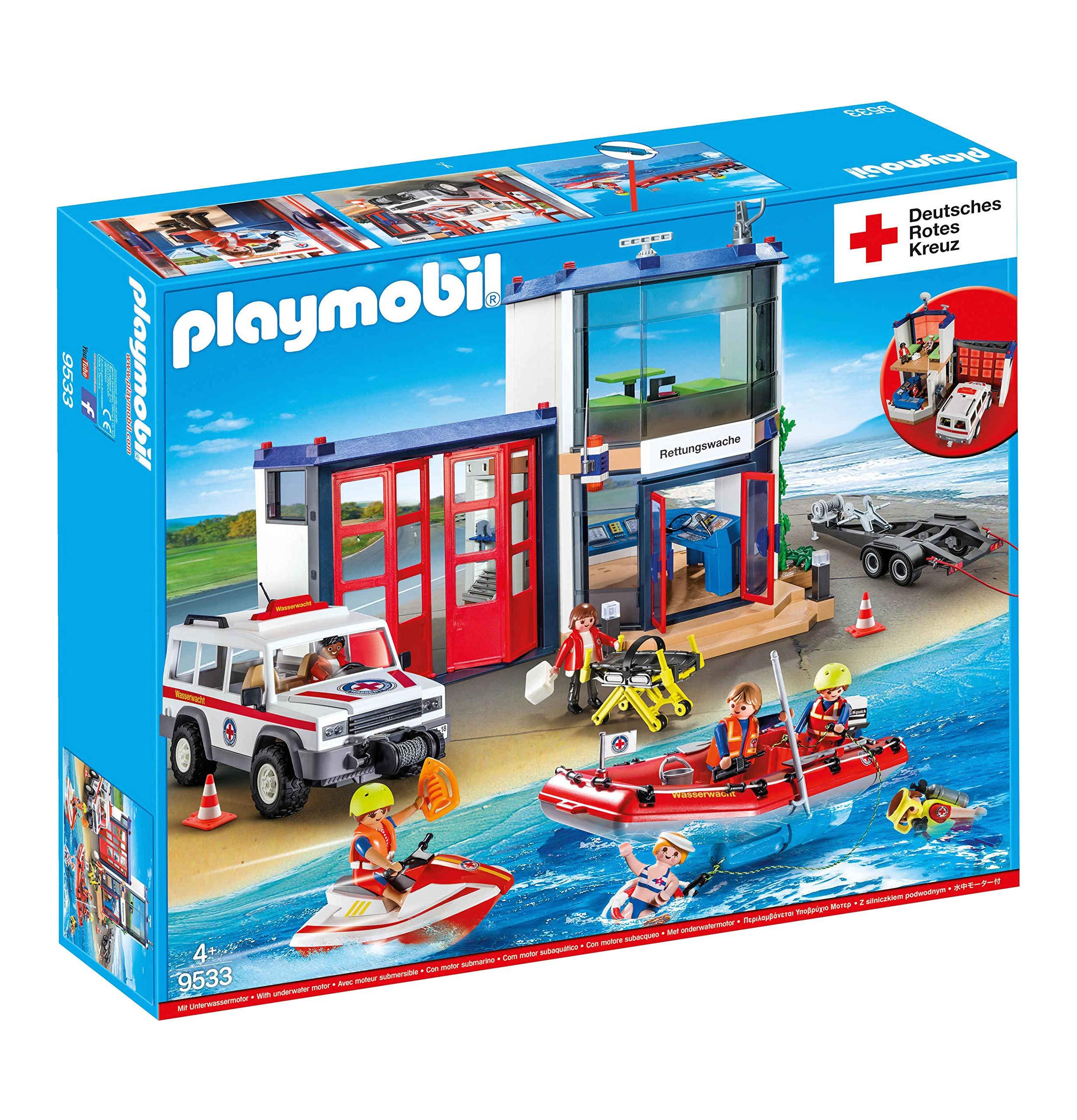 Playmobil 9533 Drk Mega Set - Juego de salvavidas: Amazon.es ...