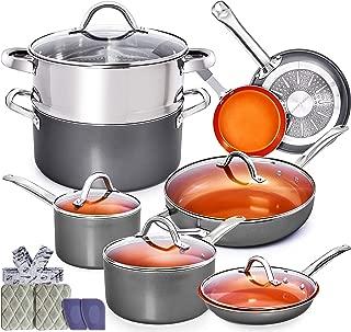 Best copper chef 7 piece cookware set Reviews
