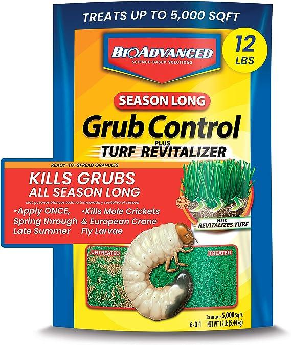 BIOADVANCED 700715M Season-Long Grub Control Plus Turf Revitalizer
