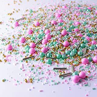 Signature Pink and Mint Sprinkle Mix, 4OZ