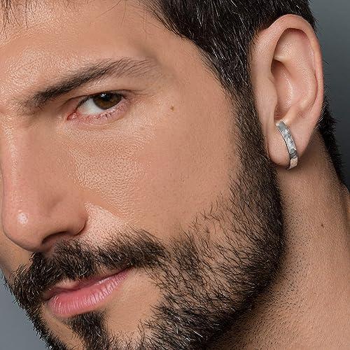 Mit ohrringen männer Ohrringe bei