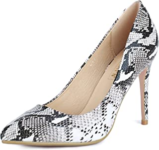 Women's IN4 Classic Pointed Toe High Heels Pumps Wedding Dress Office Shoes