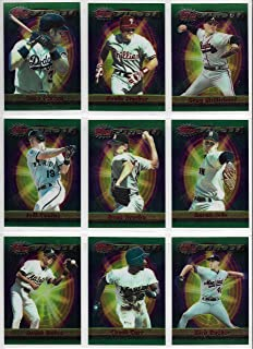 1999 Topps Finest Baseball Complete 440 Card Series 1 & 2 Set In Box