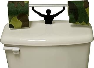 Fairly Odd Novelties FON-10155 Camouflage Toilet Paper W/Strong Man Holder Military Camo Gift Set