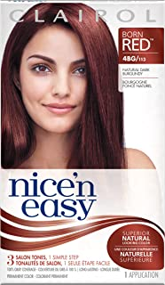 Clairol Nice 'N Easy Permanent Hair Color, Natural Dark Burgundy
