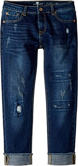 Josephina Stretch Denim Jeans in Aggressive Madison (Big Kids)