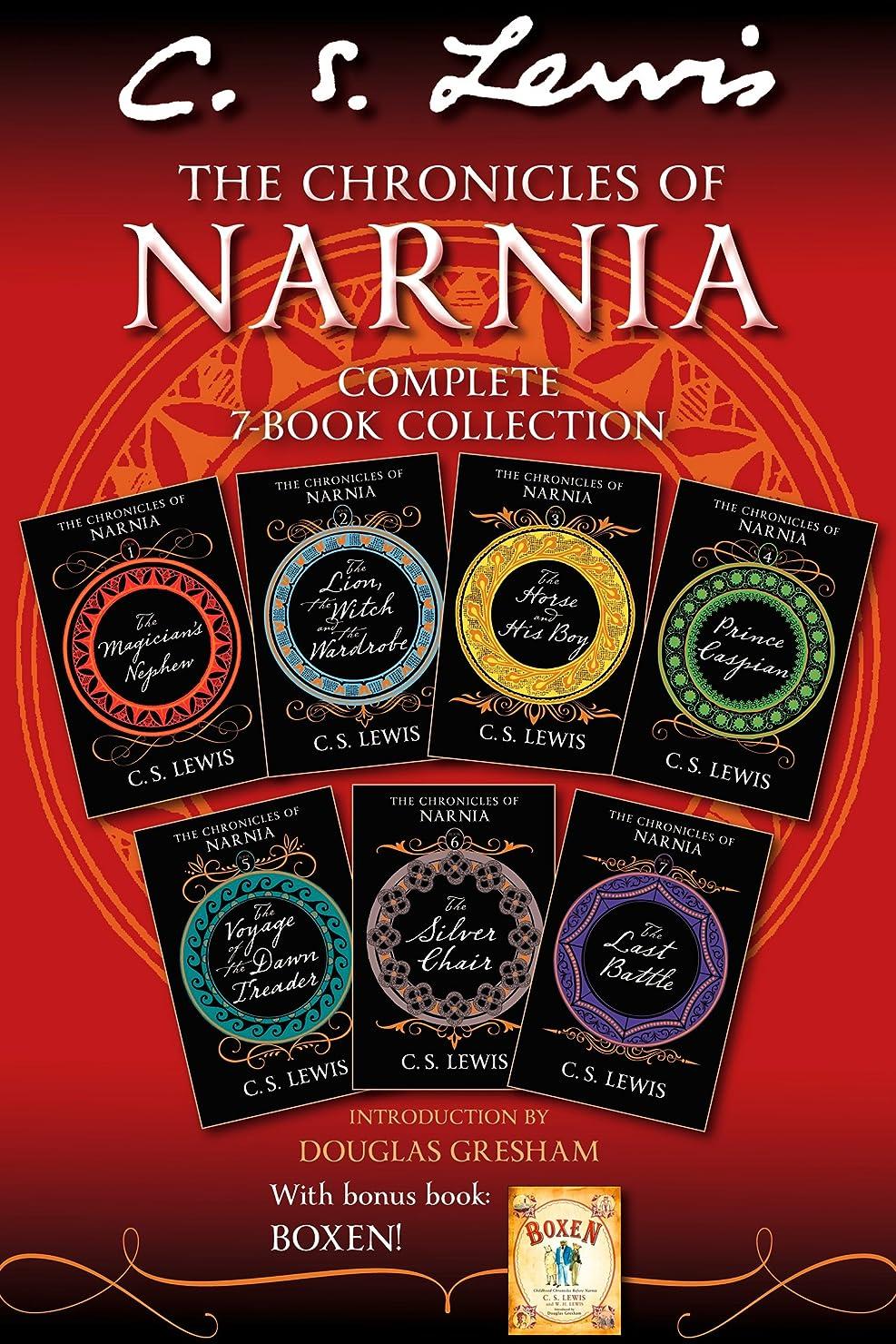 機械的ビザ統合するThe Chronicles of Narnia 7-in-1 Bundle with Bonus Book, Boxen (The Chronicles of Narnia) (English Edition)