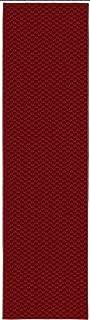 Garland Rug Medallion Rug Runner, 2' x 8', Chili Pepper Red