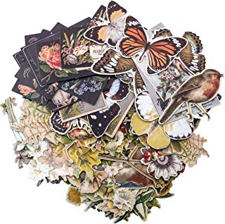 Tim Holtz Idea-ology Layers-Botanicals, 83 Pieces, TH93554