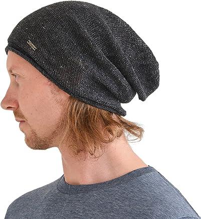 43225197517 CHARM Hemp Beanie Hat for Summer - Mens Slouchy Beanie Womens Baggy Knit Cap  Cooling Hat