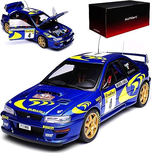 AUTOart Subaru Impreza WRX STI WRC Liatti Gewinner Rally Monte Carlo Monaco 1997 89791 1 18 Modell Auto mit individiuellem Wunschkennzeichen
