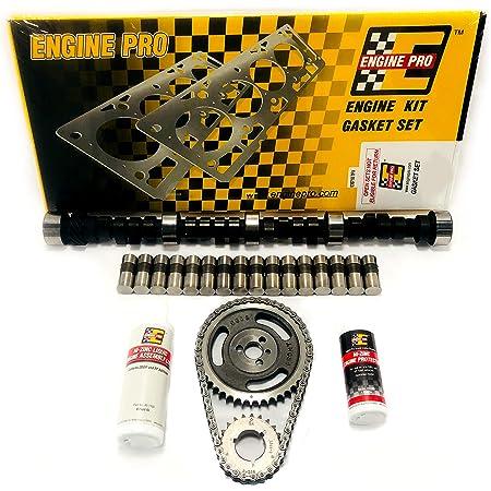 Chevy SBC V8 350 5.7L Stage 5 540//563 Lift Cam Camshaft /& Lifters Kit MC22450