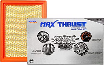 Spearhead MAX THRUST Performance Engine Air Filter For Low & High Mileage Vehicles - Increases Power & Improves Acceleration (MT-900)