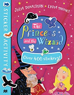 The Princess and The Wizard Oversize 400 Sticker Stickers Activity Book A Gruffalo Family Book