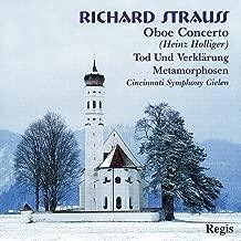 Strauss: Oboe Concerto/Tod & V