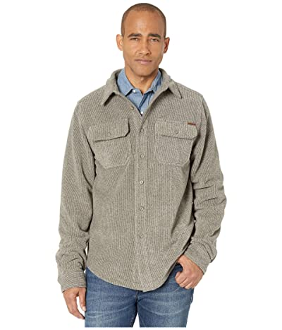 Cinch Fleece Shirt Jacket (Heather Khaki) Men