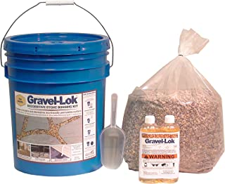 Gravel-Lok DIY Decorative Stone Bonding Kit - Pea Gravel