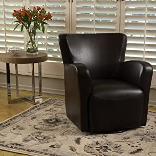 Christopher Knight Home Angelo Arm Chair, Brown