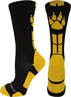 MadSportsStuff Wild Paws Athletic Crew Socks (Multiple Colors)