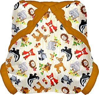 Tidy Tots Diapers Hassle Free Forest Friends Snap Diaper Cover