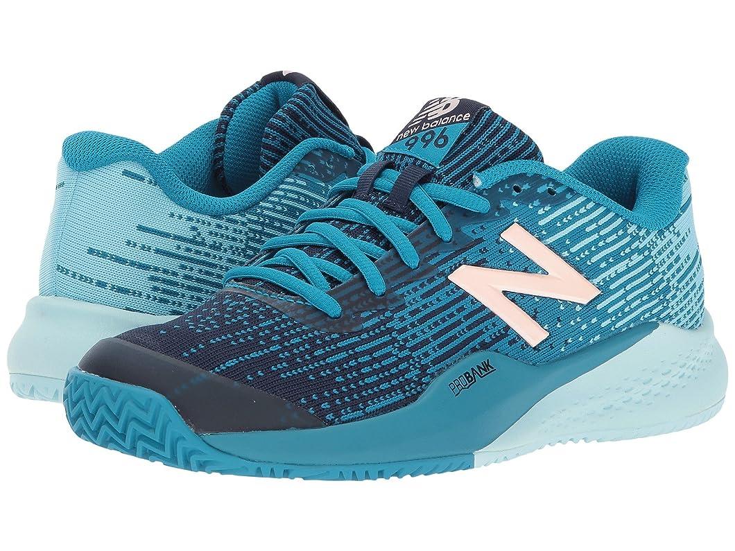 費やすバース効率的に(ニューバランス) New Balance レディーステニスシューズ?スニーカー?靴 WCY996v3 Deep Ozone Blue/Ozone Blue 5.5 (22.5cm) EE - Extra Wide