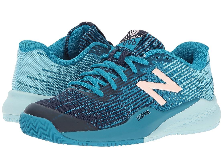 漏斗着替えるヘッジ(ニューバランス) New Balance レディーステニスシューズ?スニーカー?靴 WCY996v3 Deep Ozone Blue/Ozone Blue 7.5 (24.5cm) D - Wide