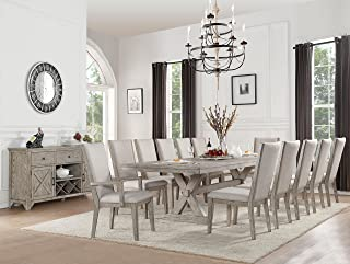 Best grey and oak dining table Reviews