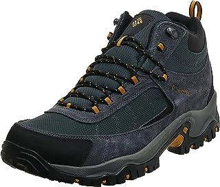 حذاء برقبة عريضة مقاوم للماء من Columbia للرجال ، مسامي ، بطانة من الصوف الدقيق