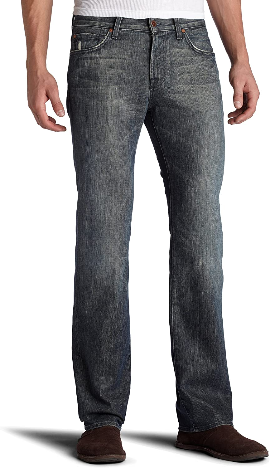 7 For All Mankind Men's Jeans Relaxed Fit Straight Leg Pant, Melbourne - Austyn, 40