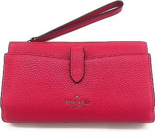 Kate Spade New York Leila - Bracciale in pelle di ciottoli, misura media, colore: Rosa brillante
