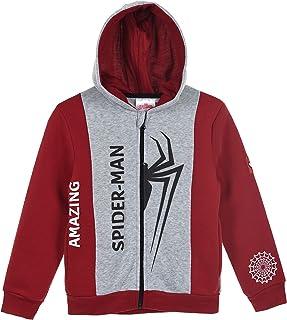 Spiderman Boys (2-8) Sweatjacket Hoodie Zipper - Red - 2-3 Years