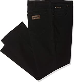 Wrangler Durable Regular Fit Men Black W10IRX26T