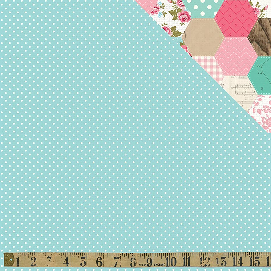 Kaisercraft Sewing Miss Betty Double-Sided Cardstock 12