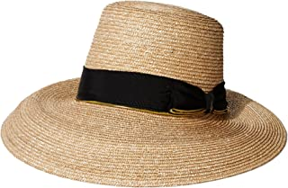 Gottex Women's Layla Fine Milan Sunhat Packable, Adjustable & UPF Rated