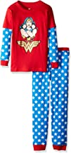 INTIMO Girls' Waffler Pajama Set