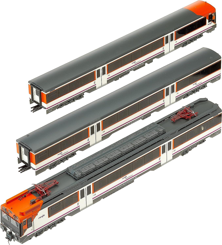 Electrotren E3609S Elektrotriebwagen Reihe 470  Regional Renfe operadora (Sound) Modellbahn, Silber Orange